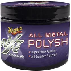 Polish Meguiar's All Metal